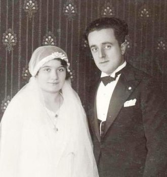 Odoardo Focherini - Focherini and his wife at their wedding