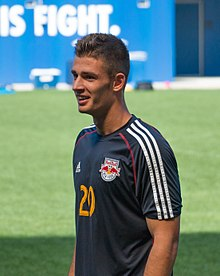 ffdc0f284 Miazga with the New York Red Bulls in 2014