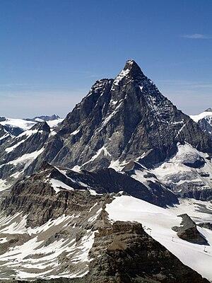 Matterhorn (4478m) from Klein Matterhorn