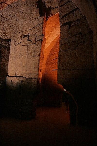 IMG_9974 Les caves cathédrales des Perrières à Doué-la-Fontaine (Maine-et-Loire, France).