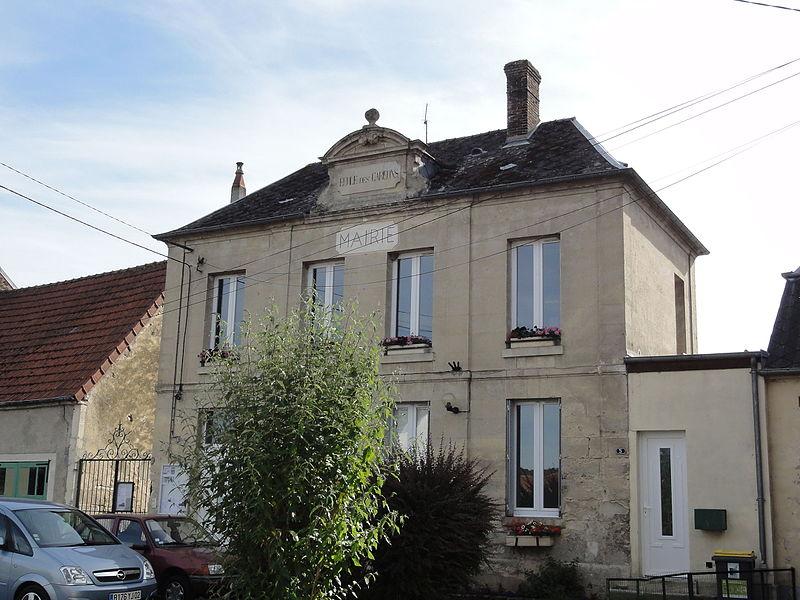 Mauregny-en-Haye (Aisne) mairie-école