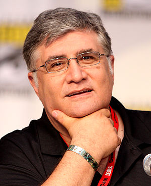 Maurice LaMarche - LaMarche at the 2010 Comic Con in San Diego, California, on a panel for Futurama.