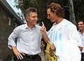 Mauricio Macri con David Nalbandián previo al choque de Copa Davis con Croacia (6896510092).jpg