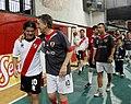 Mauricio Macri participó de un partido de fútbol con Ariel Ortega y Enzo Francéscoli (9723450213).jpg