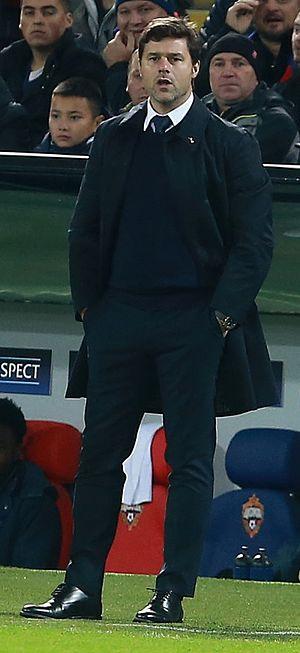 Mauricio Pochettino - Pochettino as manager of Tottenham Hotspur in 2016
