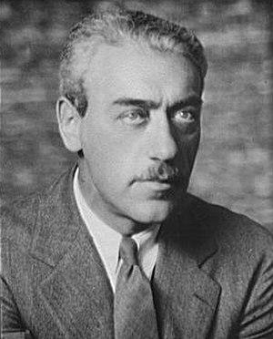 Mauritz Stiller - Mauritz Stiller in 1927