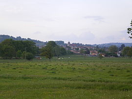 A general view of Maurs