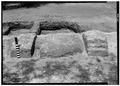May 1958 EAST TABBY FIREPLACE FROM EAST - Fort Frederica, Barracks (Ruins), Saint Simons Island, Glynn County, GA HABS GA,64-FRED,1-15.tif
