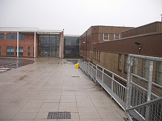 Newton Mearns - Image: Mearns Castle High School geograph.org.uk 98065