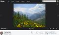 Media Viewer - New Design - Flickr Source Page - Default.png
