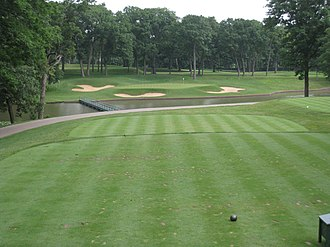 Medinah Country Club - Image: Medinah Country Club, Medinah, Illinois Hole 13