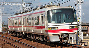 A Meitetsu 1800 series train