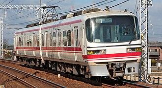Meitetsu 1800 series - Set 1801 in December 2008