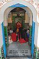 Melai Chandi Idol with Worshippers - Sanctum - Melai Chandi Mandir - Amta - Howrah 2015-11-15 7010.JPG