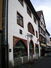 In seinem 43.Lebensjahr wohnte Melanchthon während 6Wochen in diesem Haus in Schmalkalden (Quelle: Wikimedia)