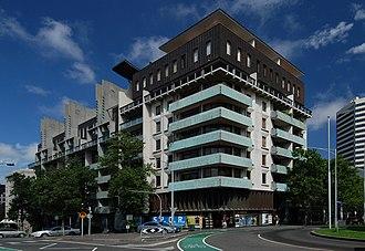 Fender Katsalidis Architects - Image: Melbourne terrace