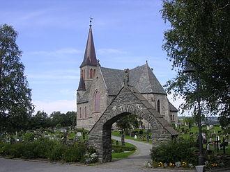 Melhus Church - Image: Melhus kirke 002