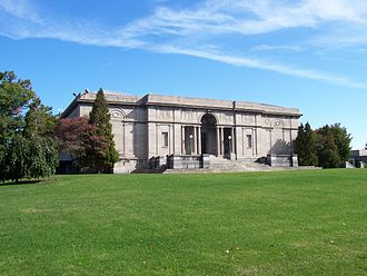 Memorial Art Gallery - South facade of the main gallery