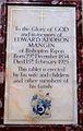 Memorial to Edward Addison Mangin in Ripon Cathedral.jpg
