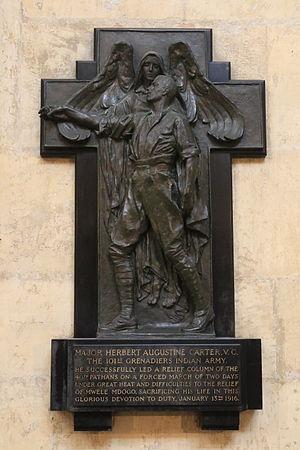 Herbert Augustine Carter - Memorial in York Minster