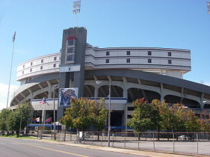 Liberty Bowl Memorial Stadium - Liberty Bowl Entrance