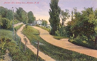 Plainfield, New Hampshire - Image: Meriden Hill, Looking East, Meriden, NH