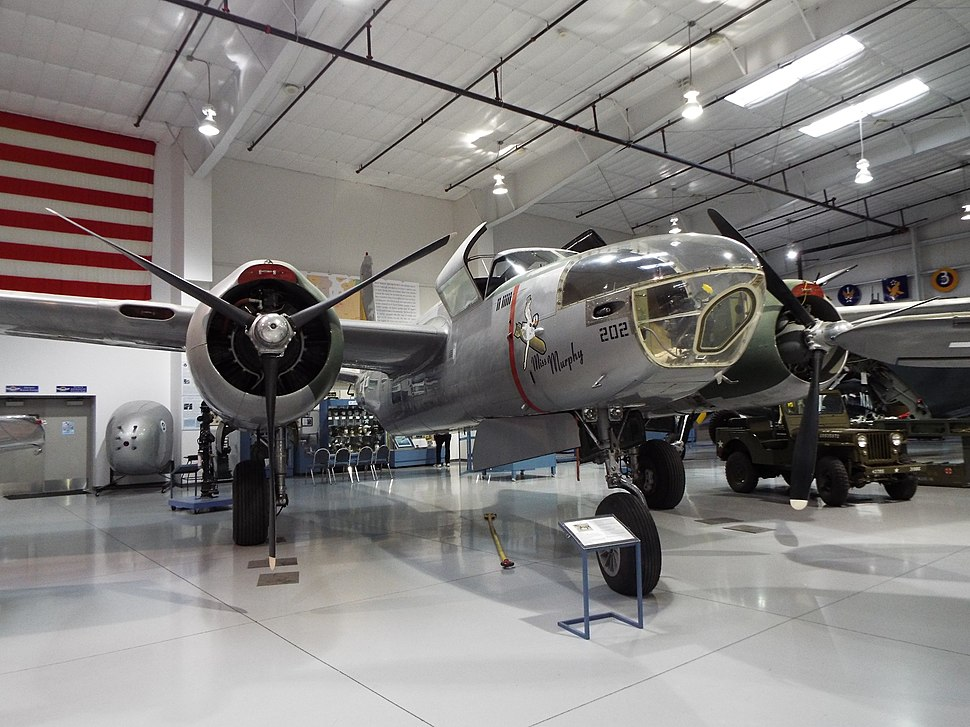 Mesa-Arizona Commemorative Air Force Museum-Douglas A-26 Invader