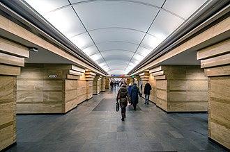Spasskaya (Saint Petersburg Metro) - Station Hall