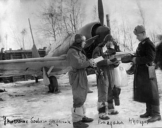 Sheepskin boots - Sheepskin boots worn by a Soviet aviator during World War II.