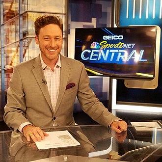 Michael Jenkins (sportscaster) - Jenkins in 2017