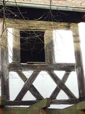 Loam - Image: Michelau Fachwerkdetail