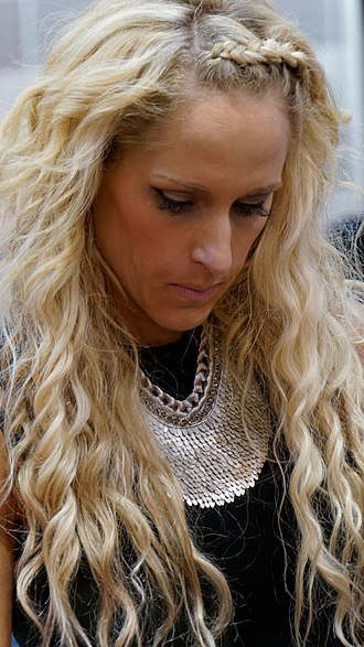 Michelle McCool - McCool signing autographs at WrestleMania Axxess in 2014