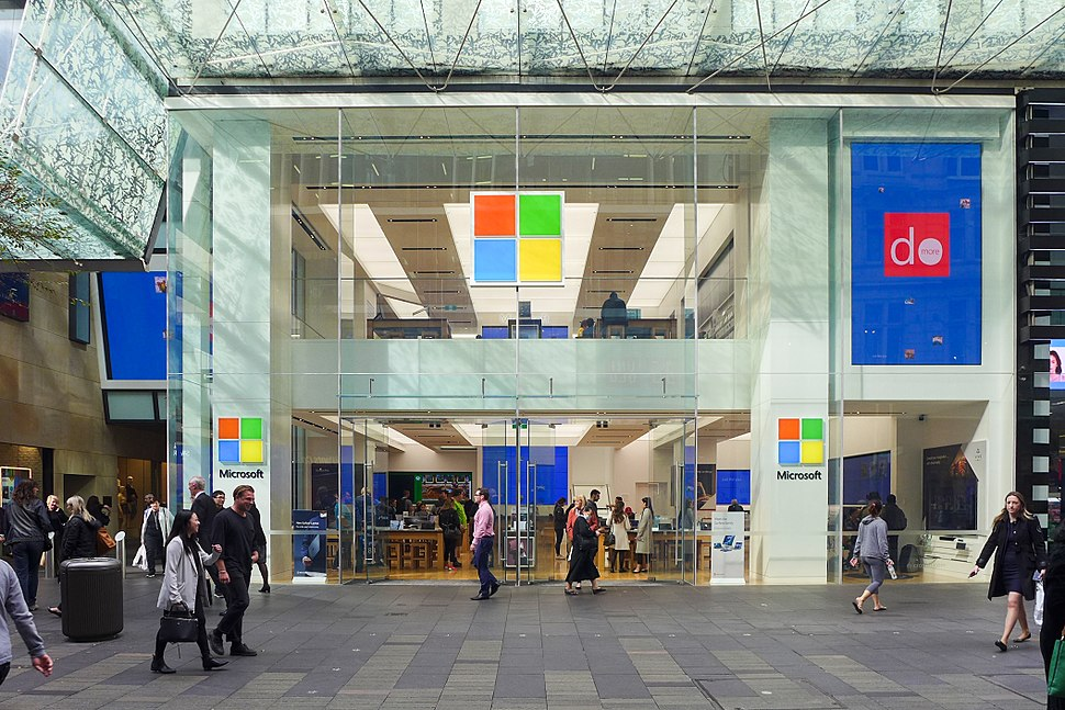 Microsoft Store in Sydney 2017