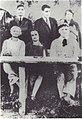 Mihail Sadoveanu with his wife Ecaterina, George Topirceanu and Otilia Cazimir.jpg