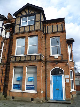 Mike Freer - Mike Freer's constituency office in Finchley.