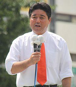 2010年6月24日、渋谷駅での街頭演説にて