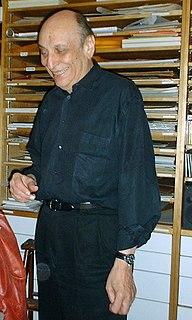 Milton Glaser American artist and graphic designer