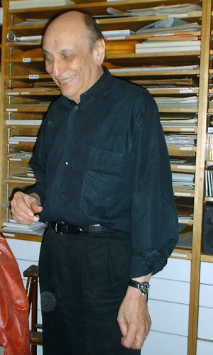 Milton Glaser - Glaser in 2003