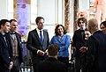 Minister-president Rutte tijdens de ontvangstceremonie van de Nederlandse paralympiërs in de Grote Kerk in Den Haag. (13268397054).jpg