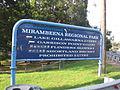 Mirambeena Regional Park entrance.JPG