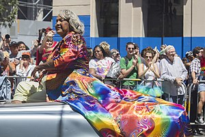 Miss Major Griffin-Gracy - Miss Major at San Francisco Pride in 2014