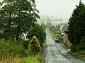 Misty view downhill to Roadhead - geograph.org.uk - 522751.jpg