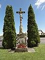 Mittelbronn (Moselle) croix de chemin B.jpg