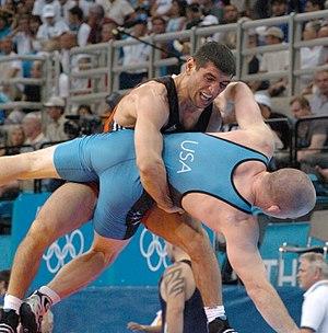 Mkhitar Manukyan - Manukyan at the 2004 Olympics