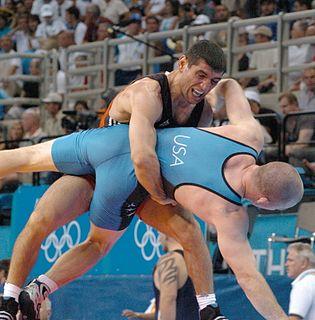 Mkhitar Manukyan Olympic wrestler
