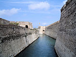 The Moat of the Royal Wall of Ceuta.
