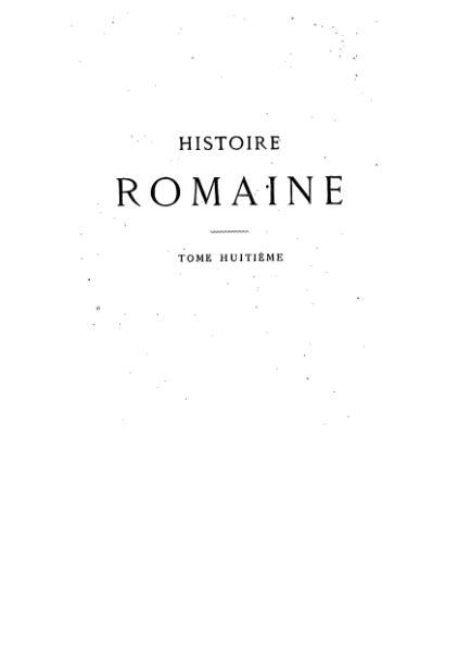 File:Mommsen - Histoire romaine - Tome 8.djvu