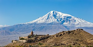 Khor Virap - Khor Virap with Mount Ararat in background