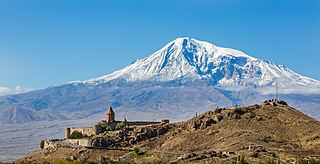 Khor Virap cultural heritage monument of Armenia