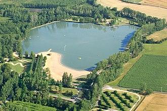 Moncontour, Vienne - Image: Moncontour 86 lac